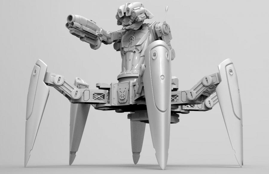 Gargantua The massive Hexapod