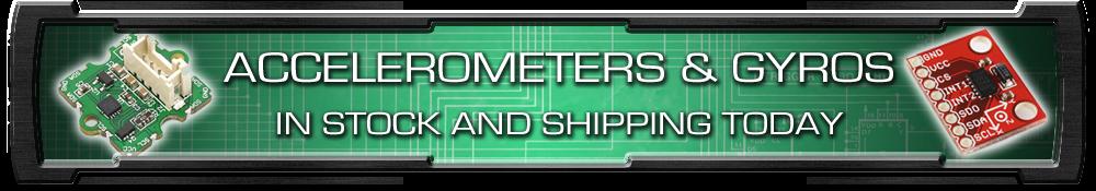 Trossen Accelerometer Gyro Top Banner