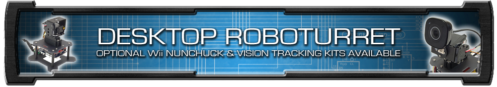 Trossen Desktop RoboTurret Thread Banner