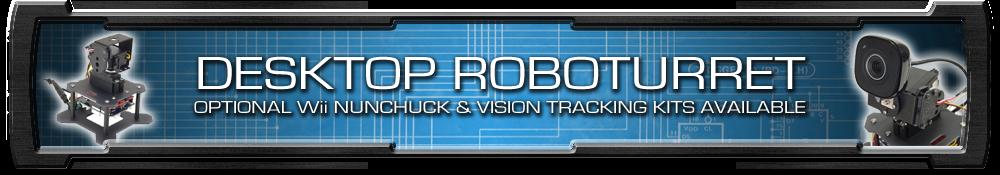 Trossen Desktop RoboTurret Top Banner