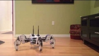 MX-64 Hexapod Robot Prototype called Golem using an Intel NUC