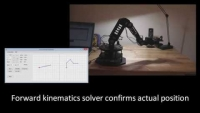 Robotic Arm Controller and IK Solver Demo