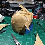Japanese Kabuta Helmet for my DARwIn-OP by Gort in Member Galleries