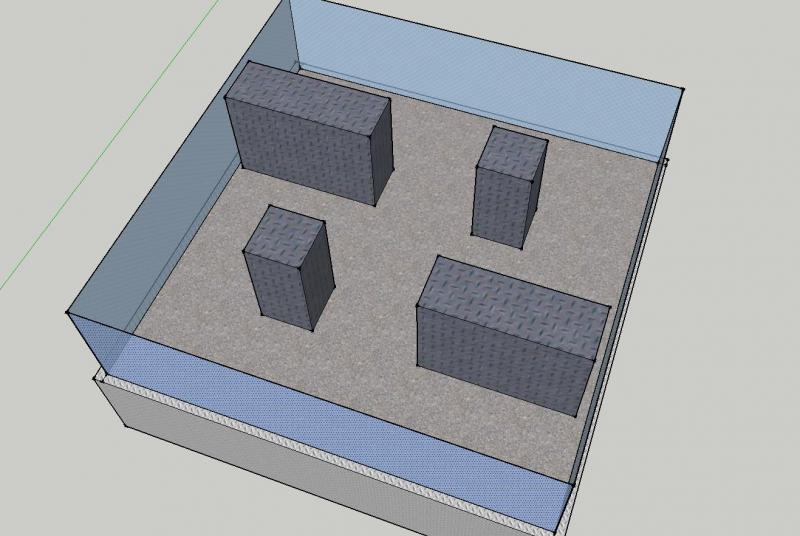 Basic Arena Design Option 2 by DresnerRobotics in Member Galleries