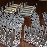 Batch Of Custom Ex-106 & Rx-28 Brackets by DresnerRobotics in Member Galleries