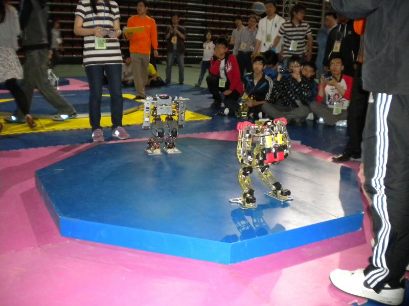 Korean Robot Game Festival 2010 by DresnerRobotics in Korea Robot Game Festival 2010