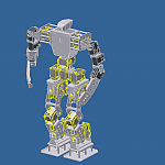 Inventor Model Of Giger- Work In Progress by DresnerRobotics in Member Galleries