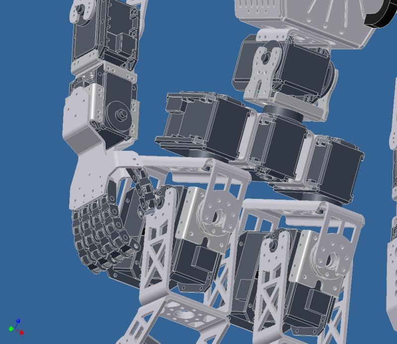 Giger 2.0 Prototype Hand by DresnerRobotics in Member Galleries