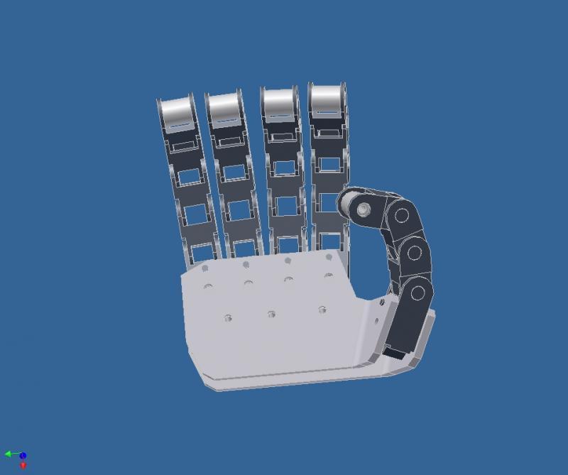 Hand Prototype V2.0 by DresnerRobotics in Member Galleries