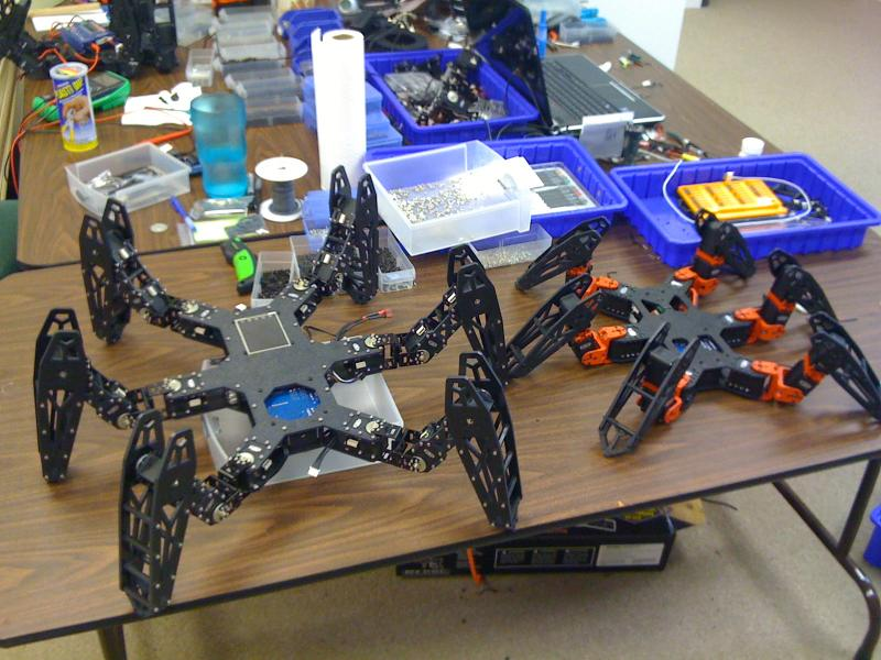 Rx-24f Hexapod Prototype by Tyberius in Member Galleries