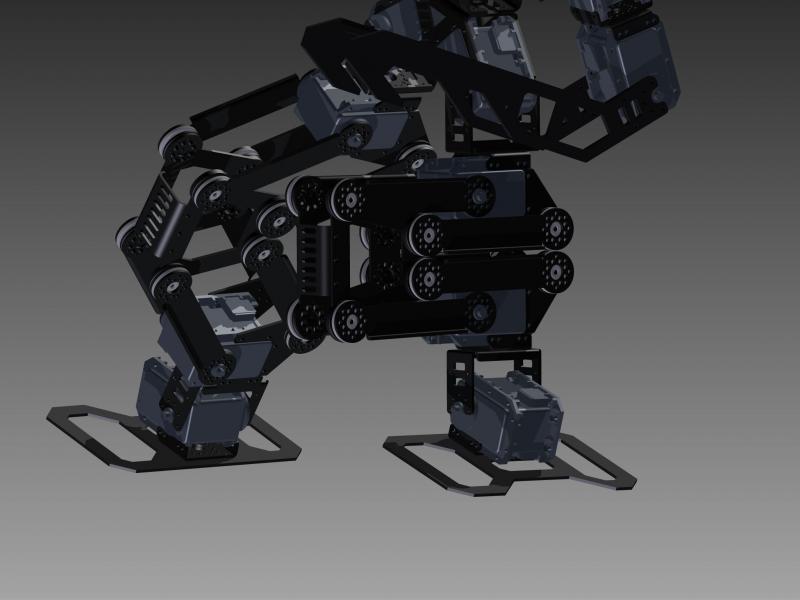 Rx-24f Plm Prototype Leg V2 by DresnerRobotics in Member Galleries