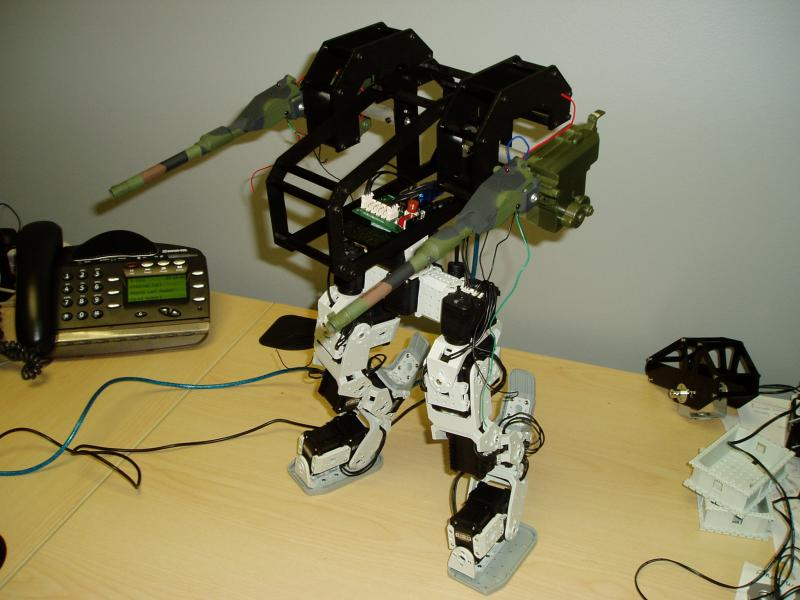 Hagetaka Mech by DresnerRobotics in Member Galleries
