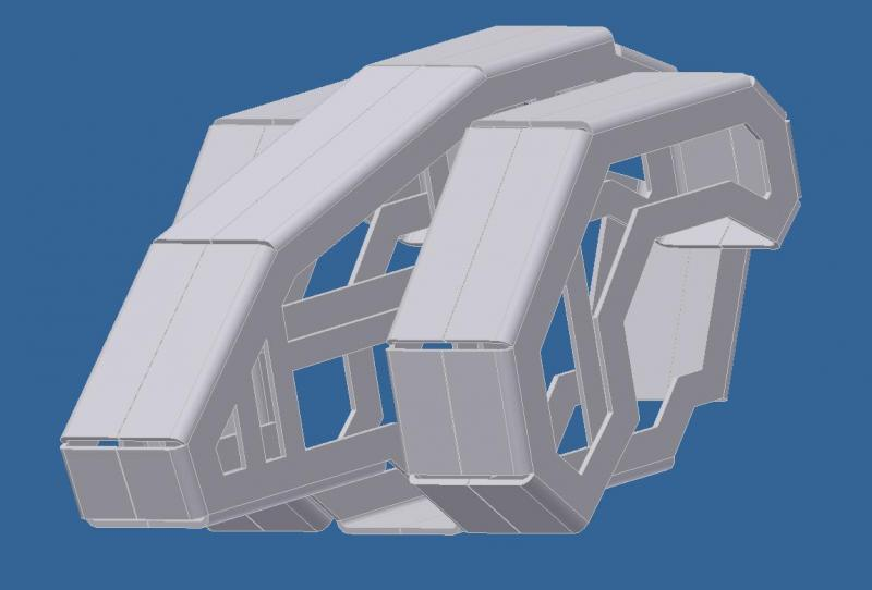 Torso Chassis Prototype by DresnerRobotics in Member Galleries
