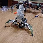 Tribot And Hexapod Gun Mount by darkback2 in Member Galleries