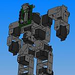 Lynxmotion Ses Biped With Hip Rotate Rev D by tom_chang79 in Member Galleries