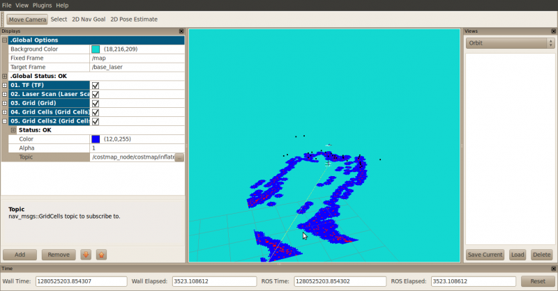 Costmap 2d by lnxfergy in Member Galleries