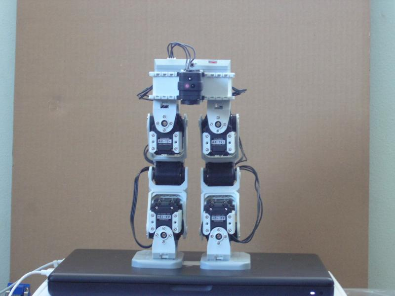 Bioloid Biped 'graywolf' Front by milw in Member Galleries