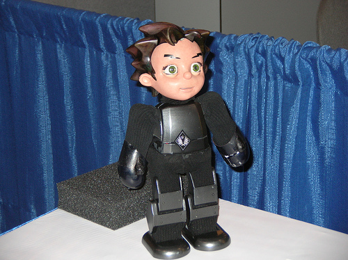 Hanson Robotics - Zeno by Alex in Show Bots