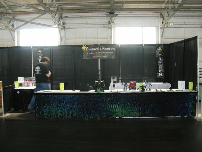 The Trc Booth (minus Crabfu's Setup) by Alex in RoboGames 2008
