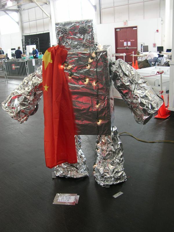 """Robogames Entrance """"robot"""" by Alex in RoboGames 2008"""