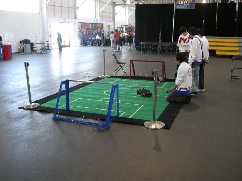 Robogames Soccer Ring by Alex in RoboGames 2008