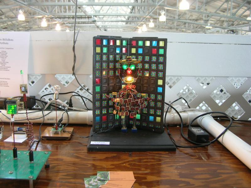 Artbots by Alex in RoboGames 2008