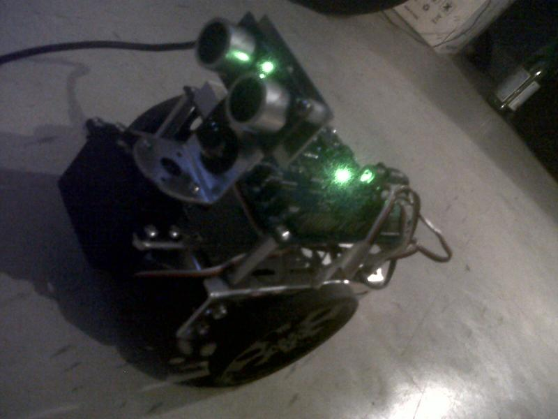 Propeller Driven Robot With Active Ping by Nishi in Member Galleries