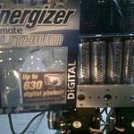 4 X Energizer Ultimate Lithium Batteries + Brat by Nishi in Member Galleries