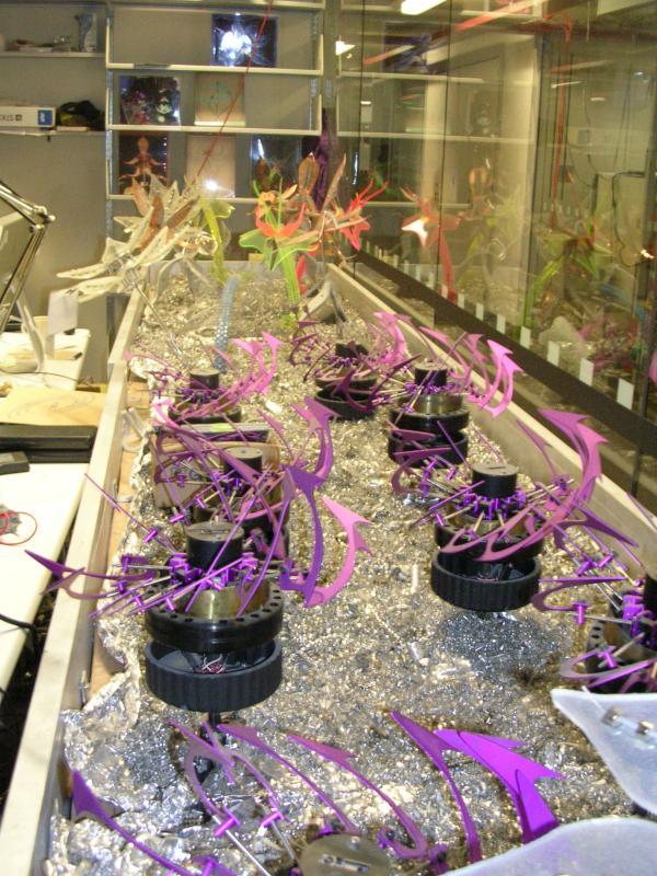 Robotic Flower Garden by parallax in Member Galleries