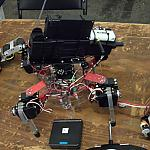 Exhibition Mech by elaughlin in RoboGames 2011