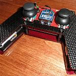 Carbon fiber coverplate for Arbotix Commander by Gertlex in Member Galleries
