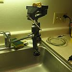 Sink-mounted vice for dremeling by Gertlex in Member Galleries
