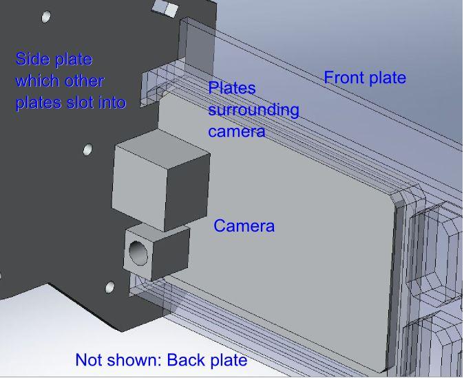 CAD of DLink camera mounting by Gertlex in Member Galleries