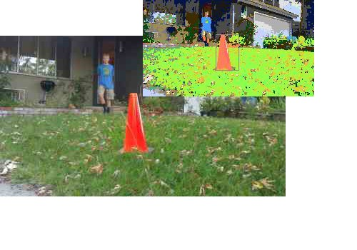 Images showing my H/C/L space voting-based plastic cone recognition algorithm by jwatte in Member Galleries
