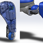 Tachikoma proto 3 cad images by CasperH in Member Galleries